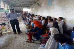 Health Education Session in GBPS LATIFABAD Unit 11 Hyderabad