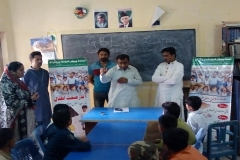 Hand Washing Session GGBPS Kohsar Latifabad Hyderabad