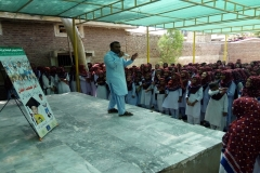 Child Safety Session in GHS Pilot School GoR Colony Qasimabad Hyderabad
