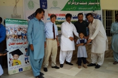 Shoes Distribution Ceremony at GBLSS Shahbaz Town Qasimabad Hyderabad