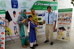 Shoes Distribution Ceremony at GBPS Mix Gulzar Hyderabad