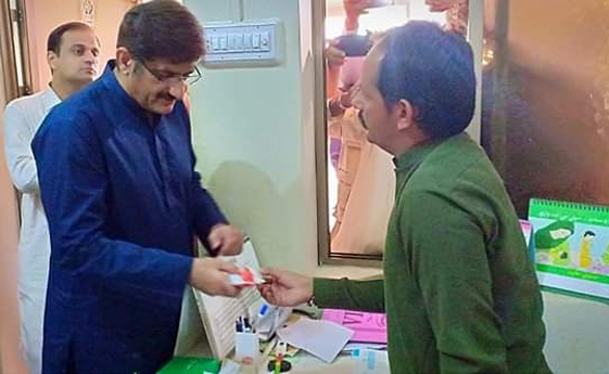 Chief Minister Sindh visits NSP OTP centre in Thar