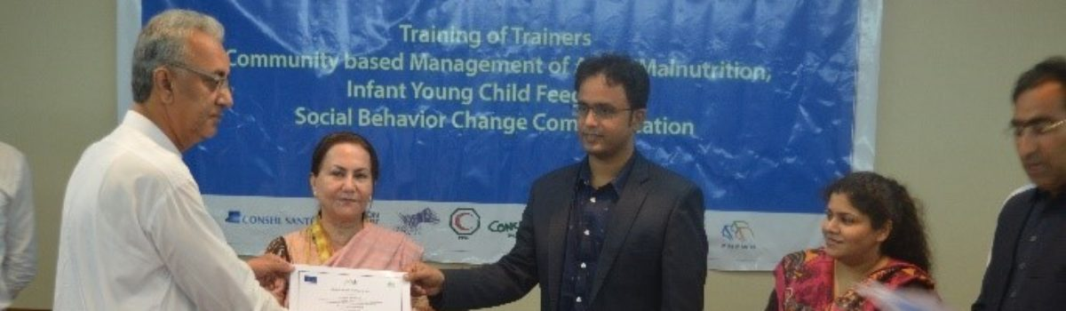 EU-PINS Organizes Training Of Master Trainers on CMAM/IYCF/SBCC Integrated Package