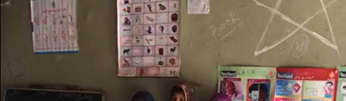 WASH Sector of AAP visits ODF village Mohan Kohli taluka shujabad district Mirpurkhas